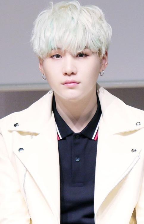 Cute Wallpapers Green Mint Yoongi White Hair Tumblr