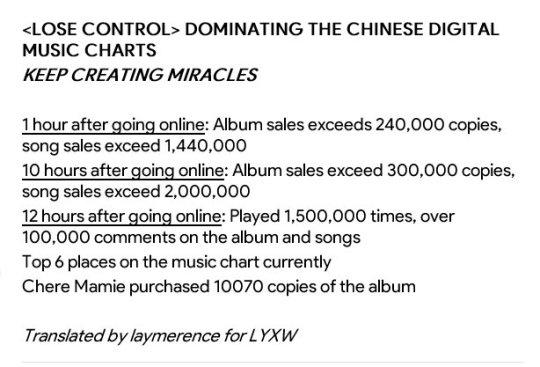 chinese music chart Tumblr - music chart