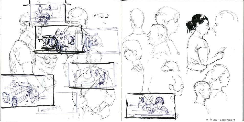 Film Storyboards \u2014 Drawers Surplus - rough storyboard thumbnails