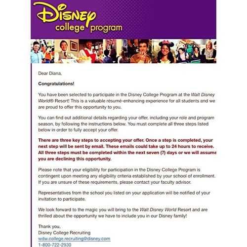 disney college program spring advantage Tumblr