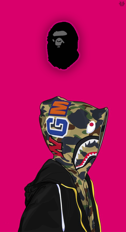 Glo Gang Iphone Wallpaper Bape Edit Tumblr