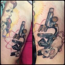 microscope-labrat-atom-tattoo-tattoos
