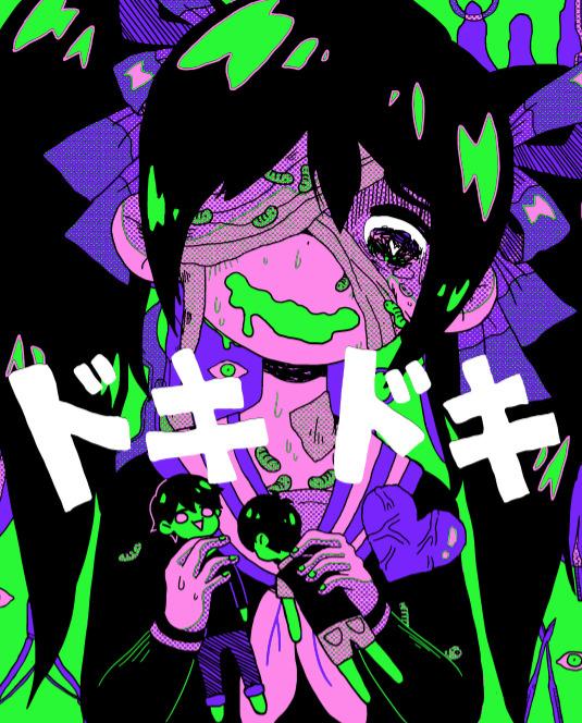 Happy Girl Boy Wallpaper Omocat 183 Doki Doki