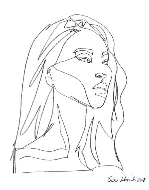 Boris Schmitz Portfolio - line drawing