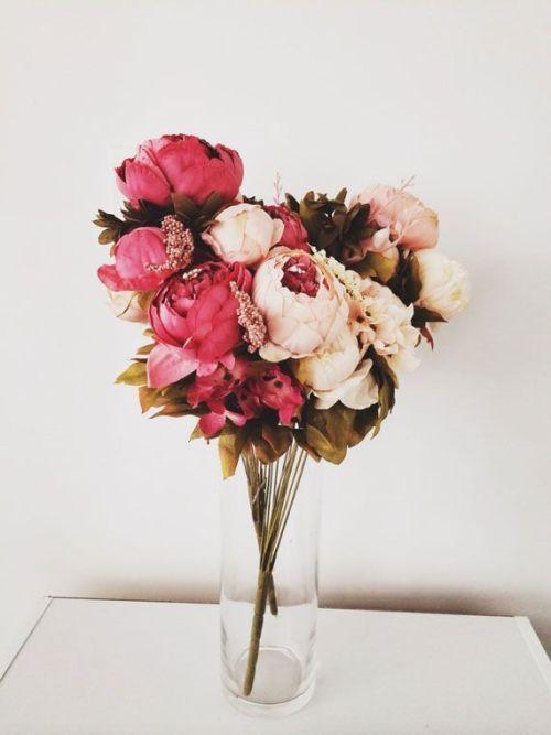 Peony Love Quote Wallpaper Peony Flower Bouquet Tumblr