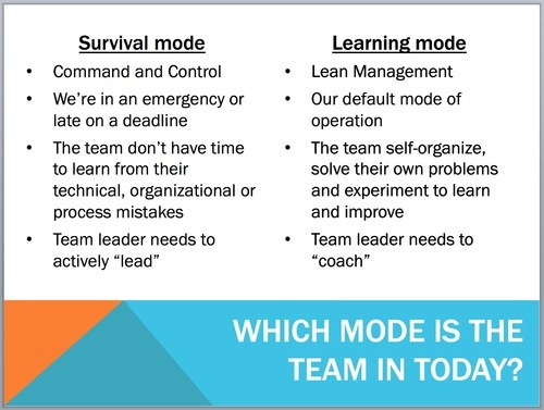 Agile and Lean Management