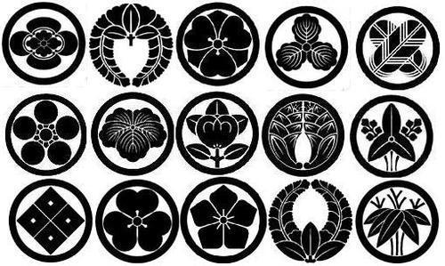 Japan History and Tradition \u2014 Kamon - Family crests - family mon