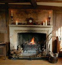 vintage fireplace | Tumblr
