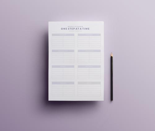 weekly planner printable Tumblr - cute weekly homework planner template