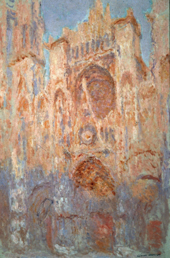 Eames Design Design Is Fine. — Claude Monet, Rouen Cathedral Facade