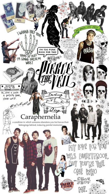 Falling In Reverse Computer Wallpaper Pierce The Veil Collage Tumblr
