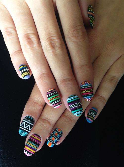 Tribal Nails On Tumblr
