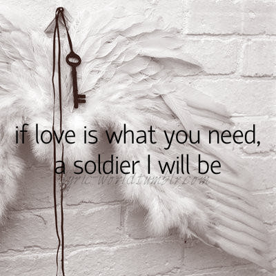 Smile Wallpaper With Quotes Angel With A Shotgun On Tumblr