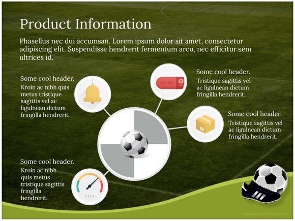 Emilia \u2014 Three Amazing PowerPoint Templates - Free Download - football powerpoint template