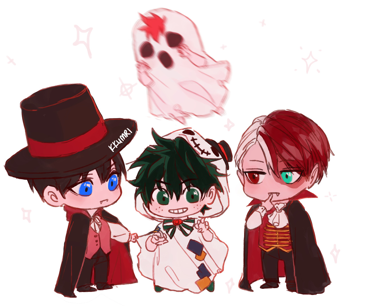 Cute Header Wallpaper Aoba Johcry The Paralleling Vampire Ghost Kagehina And