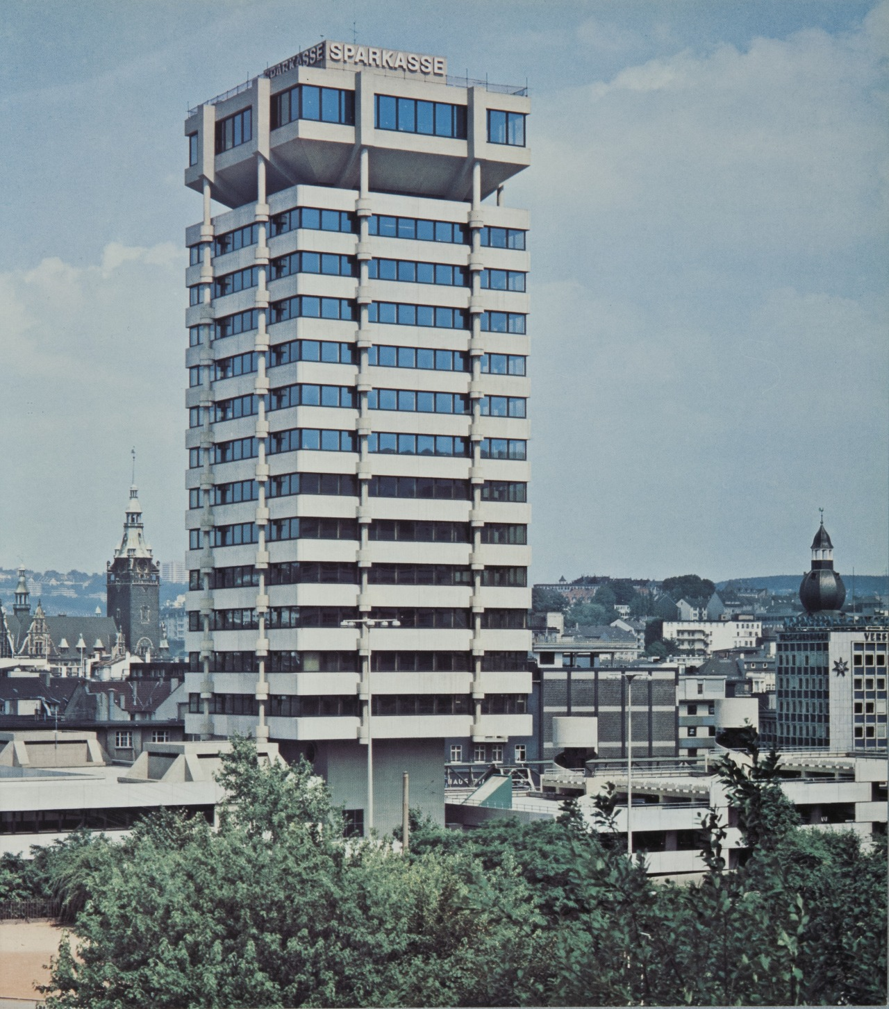 Schneiderei Wuppertal Municipal Savings Bank 1969 73 In Wuppertal German