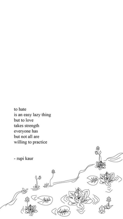 Milk And Honey Quote Wallpapers Rupi Kaur Wallpapers Tumblr