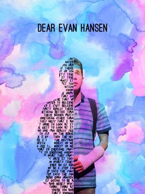Dear Evan Hansen Quotes Wallpaper Dear Evan Hansen Lockscreen Tumblr