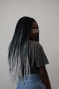 ombre box braids | Tumblr