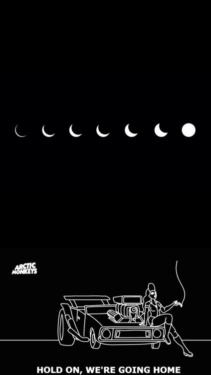 Wallpaper Arctic Monkeys Iphone Grunge Outline Tumblr