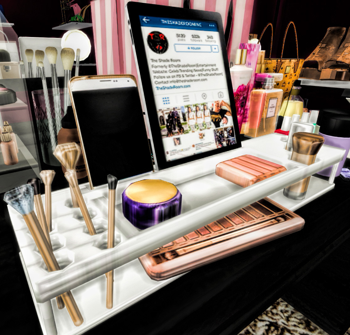 Girl Makeup Station Noellysims Bedroom Make Up Station Now Yall Can Catch