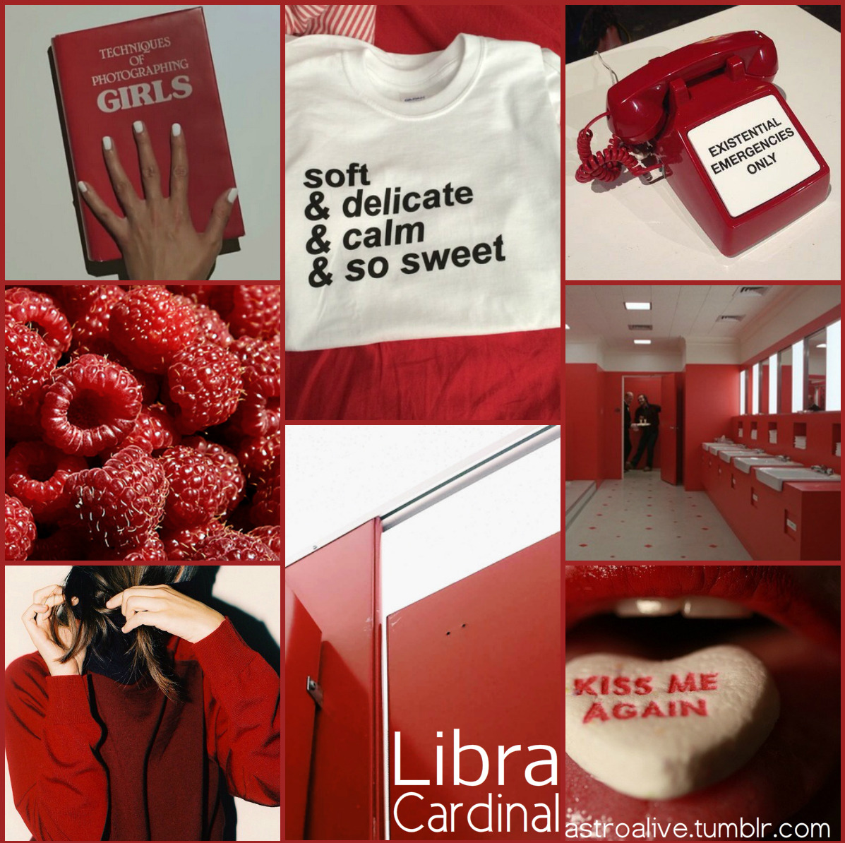 Red Libra Astrology Wonderings