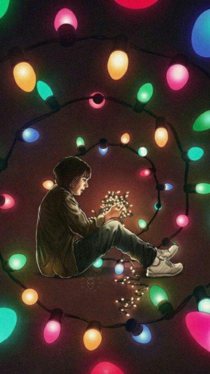 Gravity Falls Iphone Wallpaper Hd Mileven Fan Art Tumblr