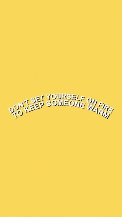 yellow wallpaper | Tumblr