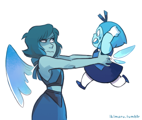 Dimple Girl Wallpapers Steven Universe Topaz And Aquamarine Tumblr