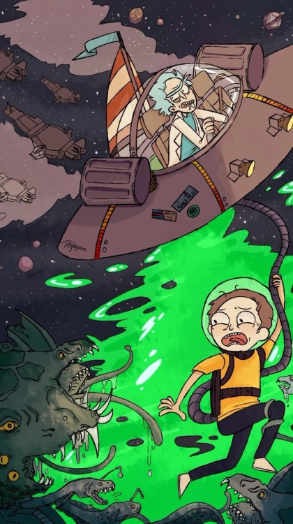 Pilot Quotes Wallpapers Lockscreens Rick And Morty Tumblr