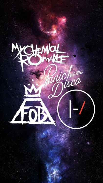 Fall Out Boy Phone Wallpapers Fob Logos Tumblr