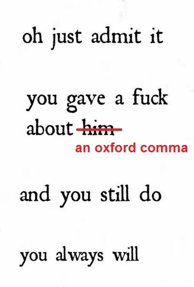21 Times Tumblr Perfectly Understood Your Relationship With The - comma and and