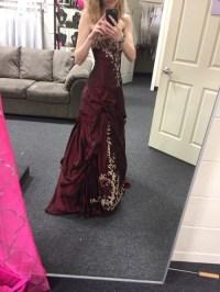 maroon prom dress   Tumblr
