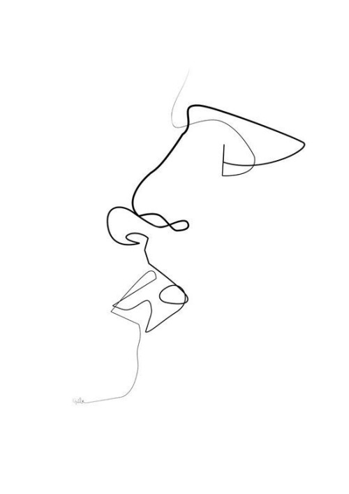 one continuous line drawing Tumblr - line drawing