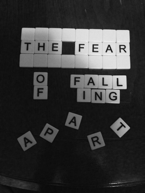 Fall Out Boy Lyric Wallpaper The Fear Of Falling Apart Tumblr