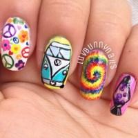 tie-dye-nail-design | Tumblr
