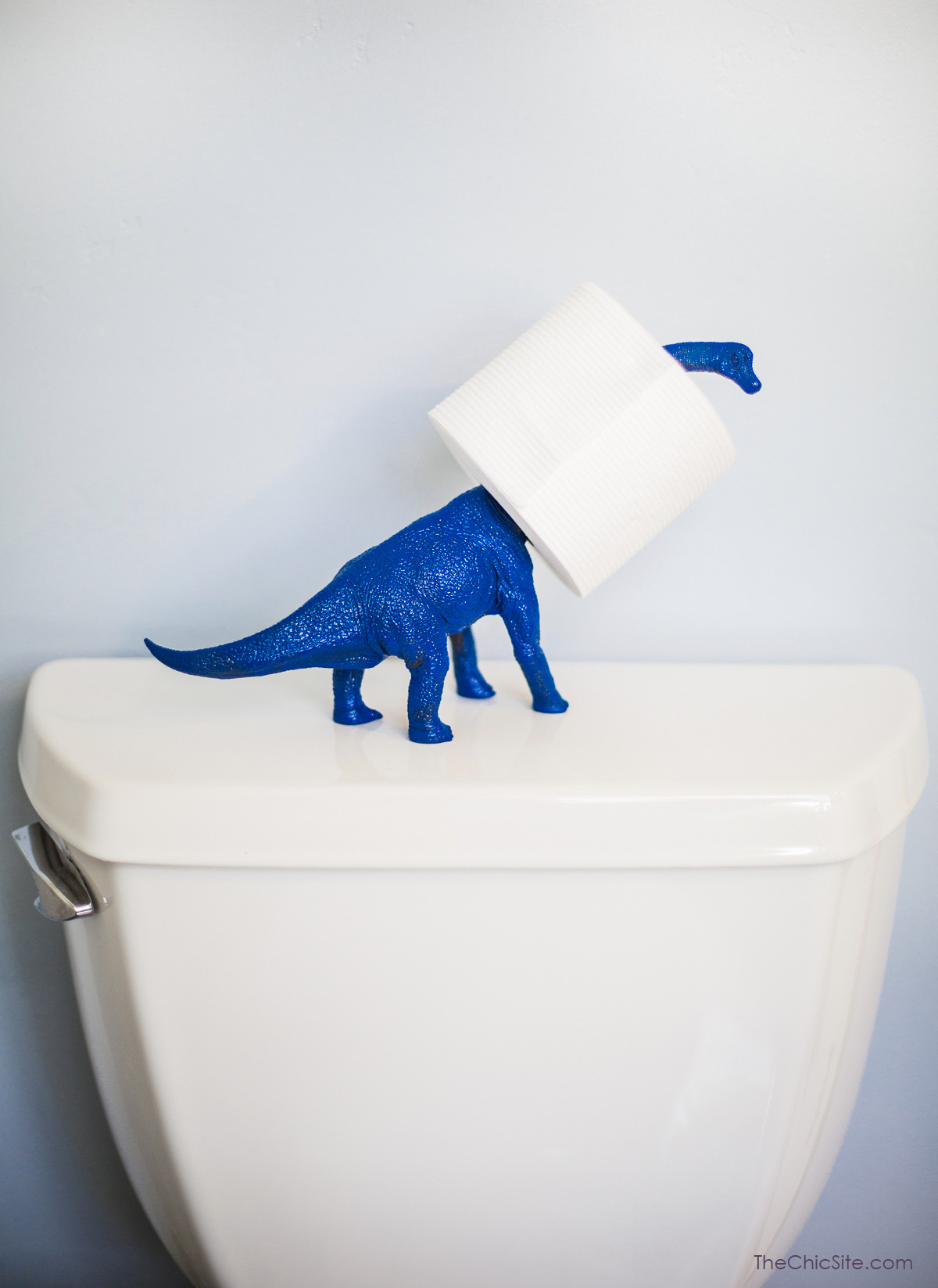 Animal Toilet Paper Holder Stand True Blue Me And You Diys For Creatives Diy Dinosaur