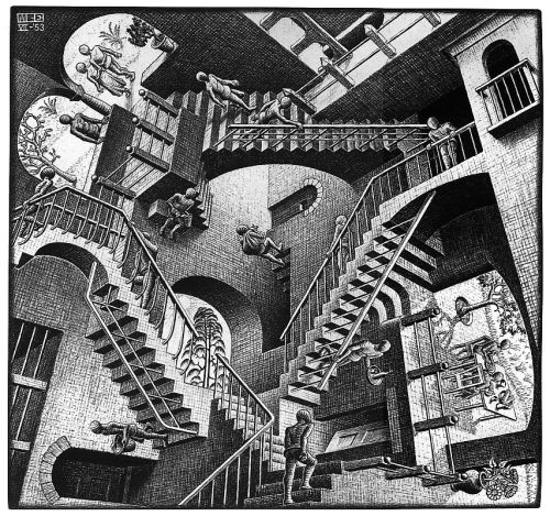 Treppen Arte Mc Escher On Tumblr