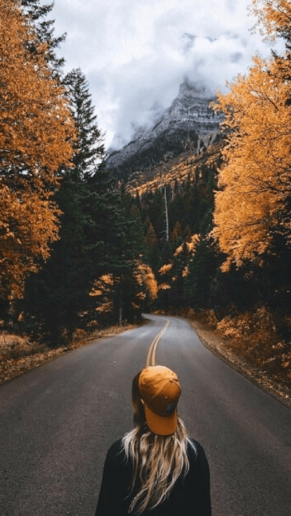 Wallpaper Fall Weather November Aesthetic Tumblr