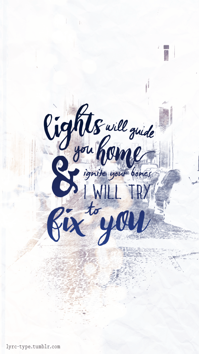 Bts Quotes Wallpaper Iphone Hd Lights Will Guide You Home And Ignite Your Bones