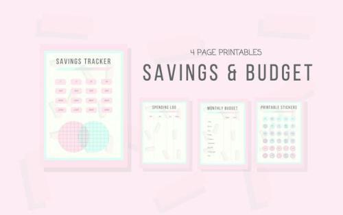 budget printable Tumblr - budget trackers
