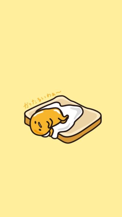 Cute Kawaii Pastel Wallpaper Gudetama Lockscreens Tumblr
