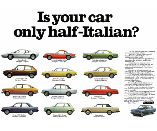 Mk Ulm Design Is Fine. — Is Your Car Only Half Italian ...