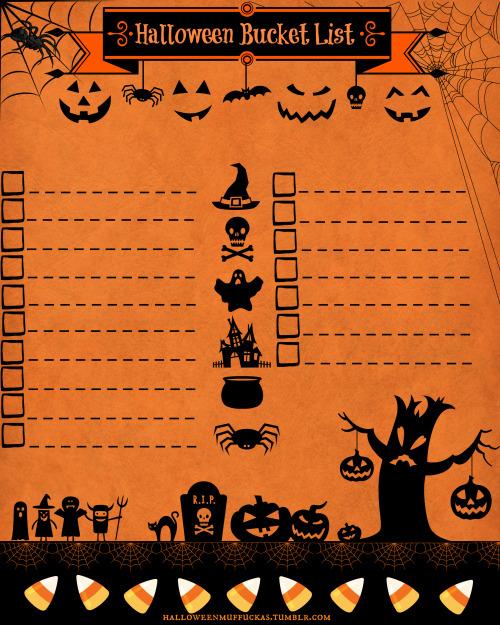 halloween template Tumblr
