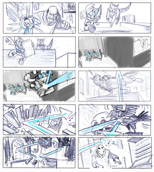 A comparison of storyboards in film and - Jorgen\u0027s Blog