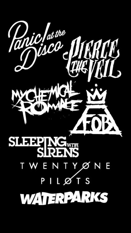 Fall Out Boy And Panic At The Disco Wallpaper Patd Logo Tumblr