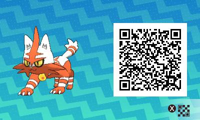 Animal Crossing New Leaf Wallpaper Qr Litten Pokemon Qr Code Tumblr