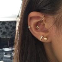 multiple earrings   Tumblr