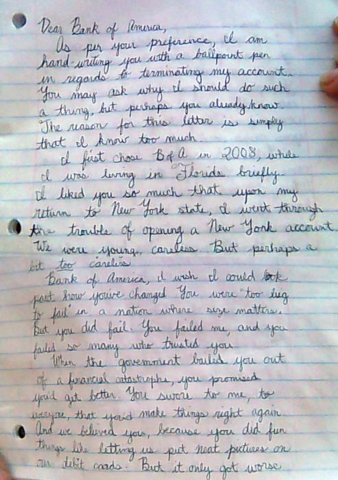 Political Journalist Does Blog Stuff LOS ANGELES - Break-up letter