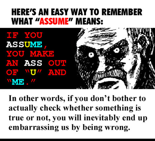 Difference Between Assume And Presume the yuniversity - difference between presume and assume
